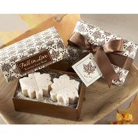 Wholesale  12pcs/lot romantic maple leaf-shape Soap for Bath Body Wedding Gift scented decorative handmade soap