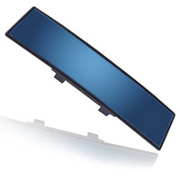 Interior mirror blue large outlook interior mirror car wide angle rearview mirror surface sportscenter glare,Free shipping