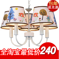 free shipping Child pendant light child real the bedroom pendant light cartoon boy lamp little girl lamp