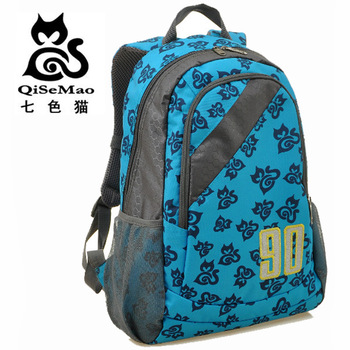 90 backpack waterproof nylon cloth travel bag preppy style student school bag q5