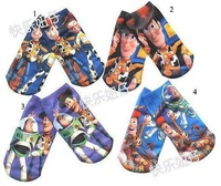 SPECIAL OFFER ! ! ! FREE SHIPPING Buzz Lightyear kids socks baby socks cartoon design 2 sizes 4 colours selection