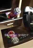 9pcs auto mini car air purifier oxygen bar car Ionizers Ionic purifier & ionizer purifier Air Freshener Ozone Ionizer Cleaner