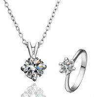 18K gold jewelry set fashion ring Genuine Austrian crystals italina jewelry set,Nickle free antiallergic gwrq yfbe