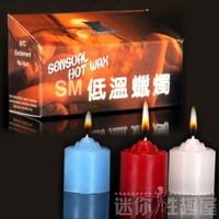 Adult sex products novelty female low temperature candle qsm-5