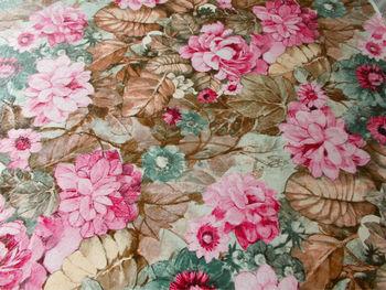 PU flowers print  handbag material,Artificial finished PU  Leather,small MOQ