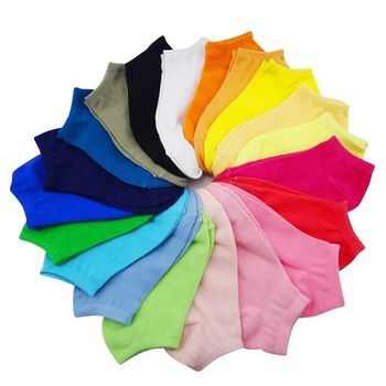 Free Shipping 20Pair/Lot New Arrival special offer colorful lovely candy socks sport sock women sock(China (Mainland))
