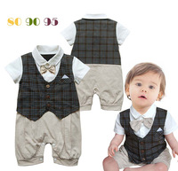 Children's clothing 12316 summer male child style bodysuit vest short-sleeve romper 34 3