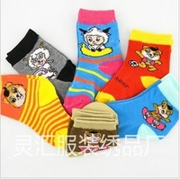 Baby child male female child socks child sock 100% cotton cartoon baby socks