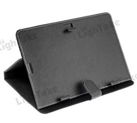 Free Shipping Leather Magnetic Flip Case with Adjustable Bracket for Universal 10.1 inch Tablet PC