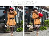 Manufacturers selling at a loss a clearance oversize raccoon fur collars (stitching) down jacket to thicken the wholesale
