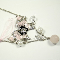 080168 58 small accessories 2011 gift butterfly drops of oil necklace