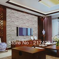 Brick Stereo Wallpaper Embossed TV Sofa Living Room Background Decoration