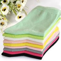 2014 New arrived female bamboo fibre socks women's soft antibiotic anti-odor socks--free shopping