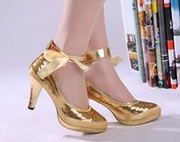 Bridal shoes wedding shoes sexy paillette bling paillette bridal shoes