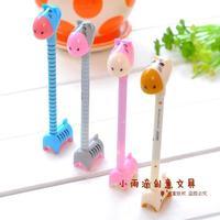 Free Shipping Hippopotami ballpoint pen cartoon korea stationery pen fresh small prizes small