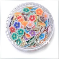 Free shipping  Nail Fimo slice 6 selectable color mixing equipment