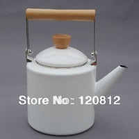 ZAKKA export to Japan 2L enamel kettle, hot water pots,health care teapot,whistling boiler for stove,furnance & induction cooker