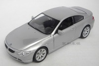free shipping ! 645Ci  !! WELLY   1:24 car models