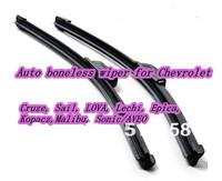 Auto boneless wiper for Chevrolet (Cruze Sail LOVA Lechi Epica Kopacz Malibu) 2pcs/set