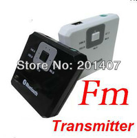 2013 new version Bluetooth music receiver with FM transmitter function free shipping cost
