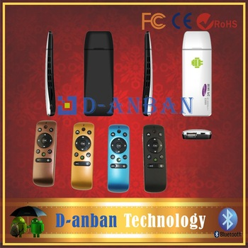 e888 Quad Core Android 4.2 Mini PC Smart TV Box TV Dongle RK3188 1.8GHZ 2GB RAM 8GB ROM IPTV HDMI WiFi  and T31 fly air mouse