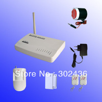 Dropshipping Wireless GSM Security Alarm System Motion Detector Security Home Alarm Kit