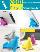 Christmas Promotion Gift Fashion Cute Cradle Support Mobile phone Bracket Stand Holder for iPad mini Mascot Sea lion