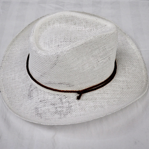2013 new European and American jazz small cowboy hat plain solid color paper green cowboy version(China (Mainland))