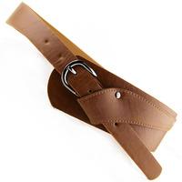 Quality all-match pin buckle cummerbund fashion wide belt women's nubuck leather belt