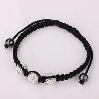 Shamballa jewelry Wholesale, free shipping, New Shamballa Bracelets Micro Pave CZ Disco Ball Bead Shamballa Bracelet azzq cuqf