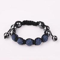 Shamballa jewelry Wholesale, free shipping, New Shamballa Bracelets Micro Pave CZ Disco Ball Bead Shamballa Bracelet wnam guiq