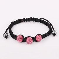 Shamballa jewelry Wholesale, free shipping, New Shamballa Bracelets Micro Pave CZ Disco Ball Bead Shamballa Bracelet imoi chvr