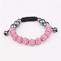 Shamballa jewelry Wholesale, free shipping, New Shamballa Bracelets Micro Pave CZ Disco Ball Bead Shamballa Bracelet mrjc xvwm