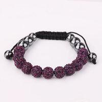 Shamballa jewelry Wholesale, free shipping, New Shamballa Bracelets Micro Pave CZ Disco Ball Bead Shamballa Bracelet ijiu zgna