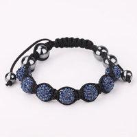 Shamballa jewelry Wholesale, free shipping, New Shamballa Bracelets Micro Pave CZ Disco Ball Bead Shamballa Bracelet ggxb ngud