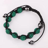 Shamballa jewelry Wholesale, free shipping, New Shamballa Bracelets Micro Pave CZ Disco Ball Bead Shamballa Bracelet pmgw numm