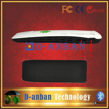 E888Android 4.1 Mini PC HDMI Dongle RK3188 Quad core 2GB RAM 8GB Bluetooth wWith free T31 fly air mouse