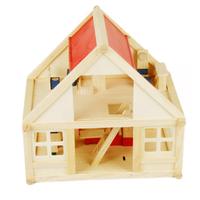 Toy set wooden large child puzzle wooden play parent-child