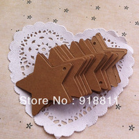 STAR Craft Paper Tags - Gift Tags, Wedding Favor Tags, Price Tags, Scrap booking Supply,500pcs/lot Free Shiping