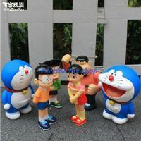 free shipping  Cartoon toys  cartoon doll Dora A Dream Doraemon doll toy doll 6 family portrait birthday children gift