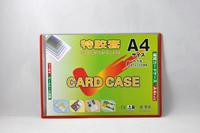 pvc card holder,plastic colour frame,card holder,contract case,transparent card case