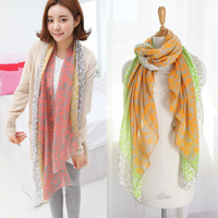 Free Shipping 2013 New Style Fashion Hot Leopard Scarf Leopard favorite super star cotton shawl 2colors