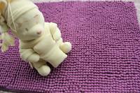 Bathroom absorbent mats mat doormat chenille carpet slip-resistant mats