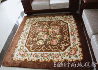 Super fashion handmade flower living room carpet table mats