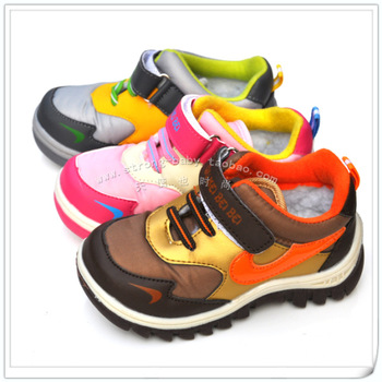 Children shoes sports warm shoes snow boots male female child 26 - 31