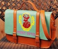 Fashion vintage women's handbag fashion onta 2013 fresh messenger bag handbag messenger bag briefcase free shipping