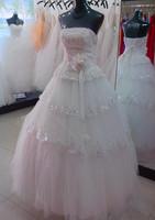 The bride wedding dress formal dress 2013 bandage tube top wedding dress lace princess wedding dress