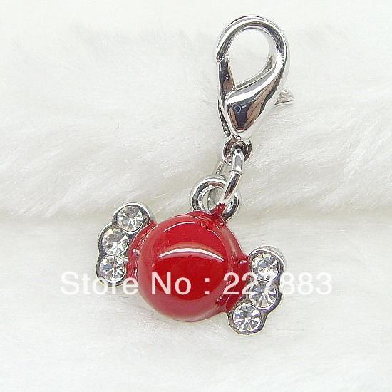versandkostenfrei 9985 kristall süß bonbon bonbon telefon charme ...