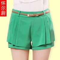 Women's summer 2013 shorts plus size shorts female summer casual female shorts