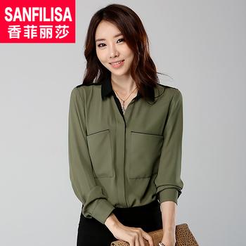 2013 summer trend plus size basic shirt long-sleeve shirt sunscreen female shirt chiffon shirt